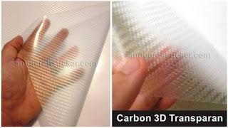 stiker carbon