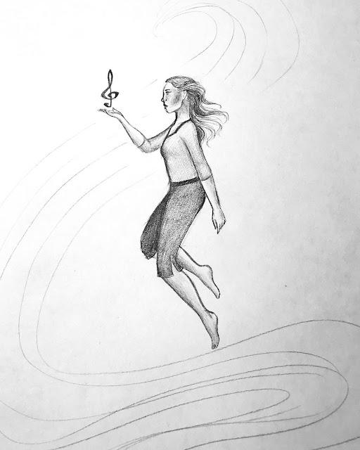 Floating Pose Art