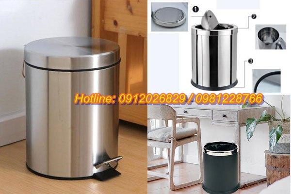 Diễn đàn rao vặt: Cần mua thùng rác bằng inox cho gia đình bền, giá rẻ tại TPHCM Thung-rac-inox-gia-dinh