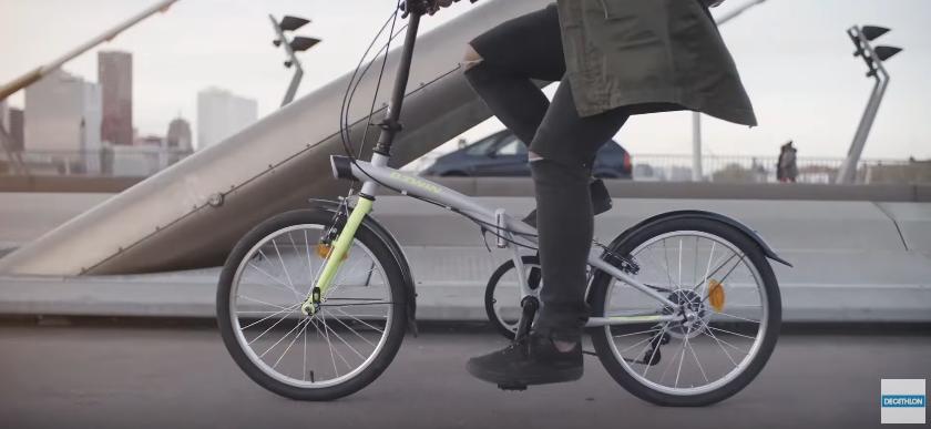 Canzone Decathlon Hoptown B'Twin pubblicità con bici pieghevole - Musica spot Novembre 2016
