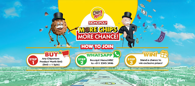 Chipsmore x Monopoly Campaign