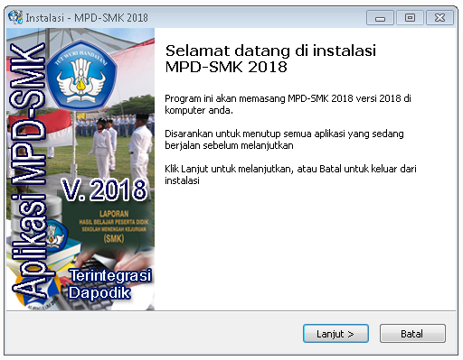 MPD SMK 2018 - Aplikasi Gratis MPD SMK versi 2018 - Aplikasi Manajemen Penilaian Digital Versi 2018. Rilis MPD SMK Versi 2018.