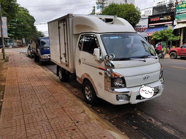 Bán xe tải đông lạnh 1 tấn cũ tại Hà Nội