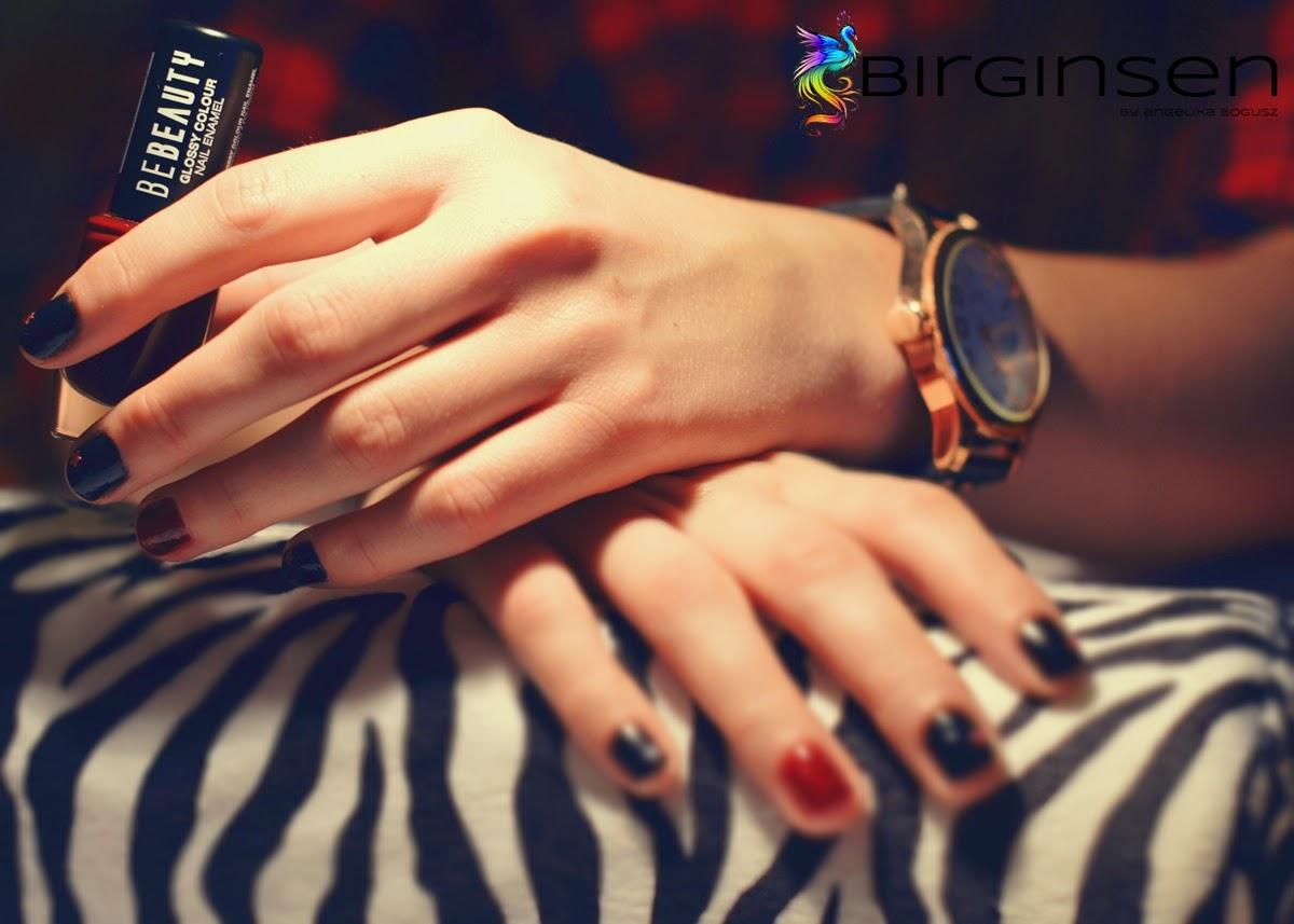 rockowe paznokcie