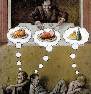 Ilustrasi yang Menyindir Kenyataan Betapa Mirisnya Perilaku Kehidupan Manusia Zaman Sekarang