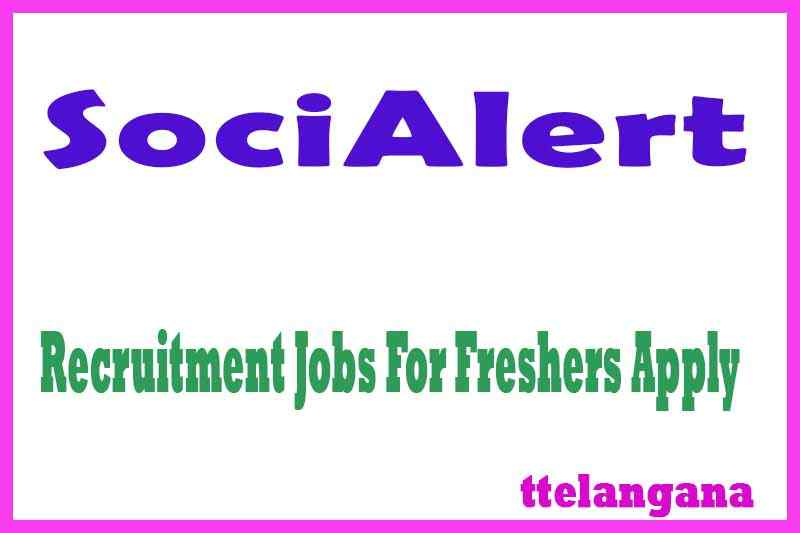 SociAlert Recruitment Jobs For Freshers Apply