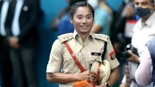 Hima Das - The Athlete, The Sprinter, The Dhing Express, now The DSP - HimaDas | Best Comments