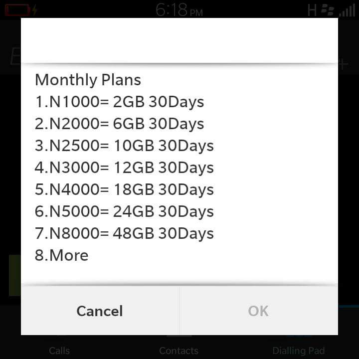 Glo new data plan