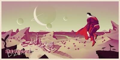 Superman: The Animated Series Screen Prints by Phantom City Creative x Mondo