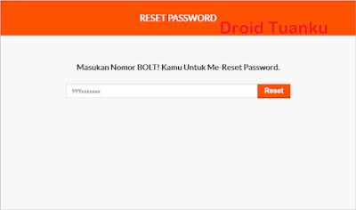 Cara Mengatasi Lupa Login Password Bolt 4G LTE Terbaru