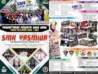 Desain Brosur Sekolah SMK Yasmida Ambarawa Tahun 2020
