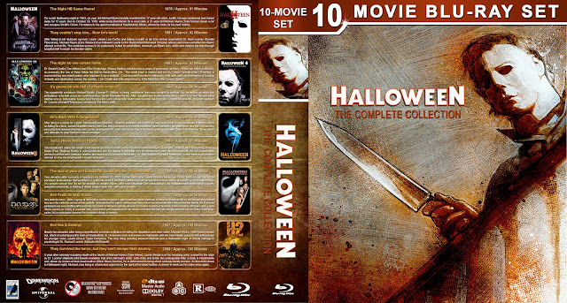 Halloween: The Complete Collection Bluray Cover