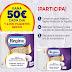 ¿Que prefieres 50€ o 2.000 paquetes gratis?