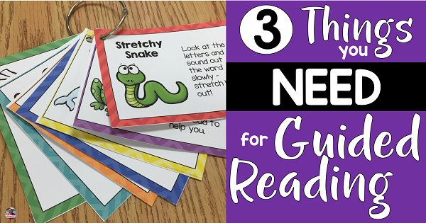 Do you know how to engage your students during guided reading instruction? Learn about 3 resources to add to your guided reading table to teach decoding strategies, reading comprehension and phonemic awareness all while keeping your students engaged during your guided reading instruction.