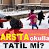 19 Ekim Kars'ta Okullar Tatil mi? Yarın Kars'ta Okullar Tatil mi?