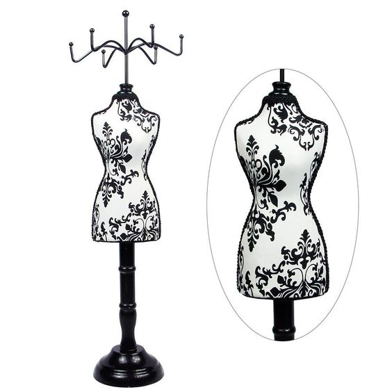 Fabric Covered Mini Mannequin Display