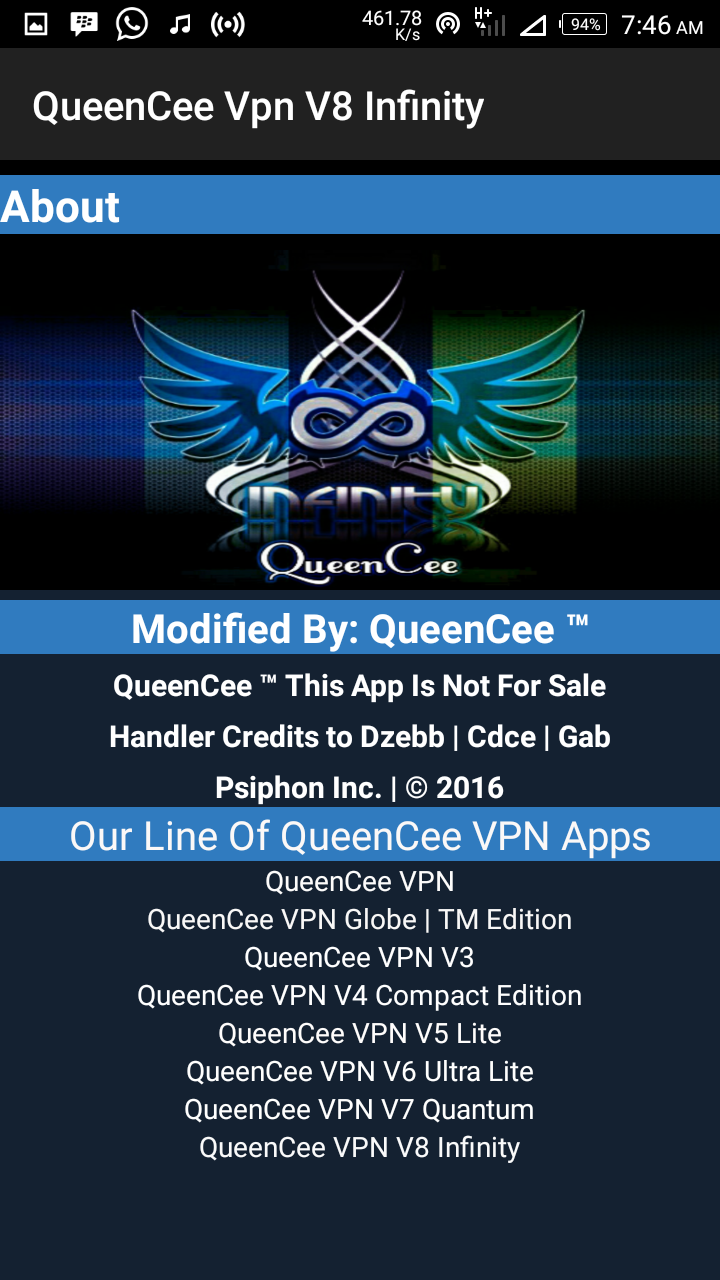 INFINITY TÉLÉCHARGER QUEENCEE V8