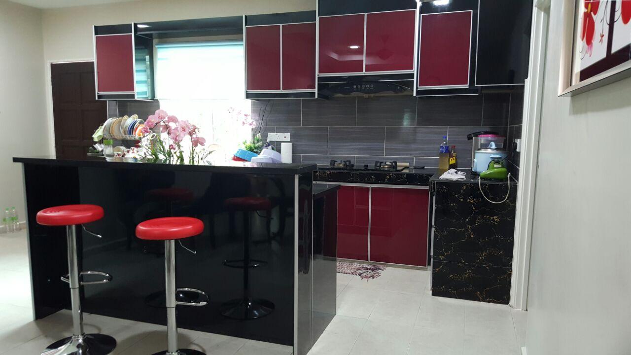 Kabinet Dapur Terus Dari Kilang