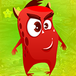 Play Games4King - G4K Spooky Red Creature Escape Game
