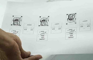 PCB transfer paper