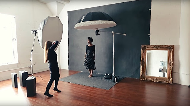 Sue Bryce creates her own natural light with strobes
