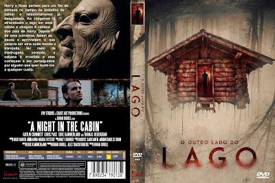 Filme O Outro Lado do Lago (The Cabin) DVD Capa