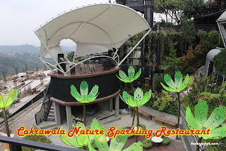 Panggung Live Music di Cakrawala Nature Sparkling Restaurant