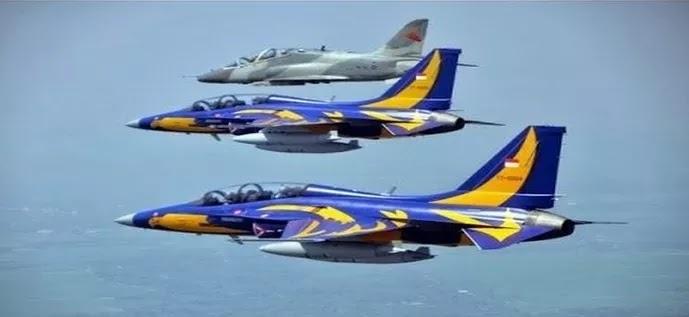 Inilah Kecanggihan 'Elang Emas', Jet Tempur TNI AU Pengawal Langit Nusantara