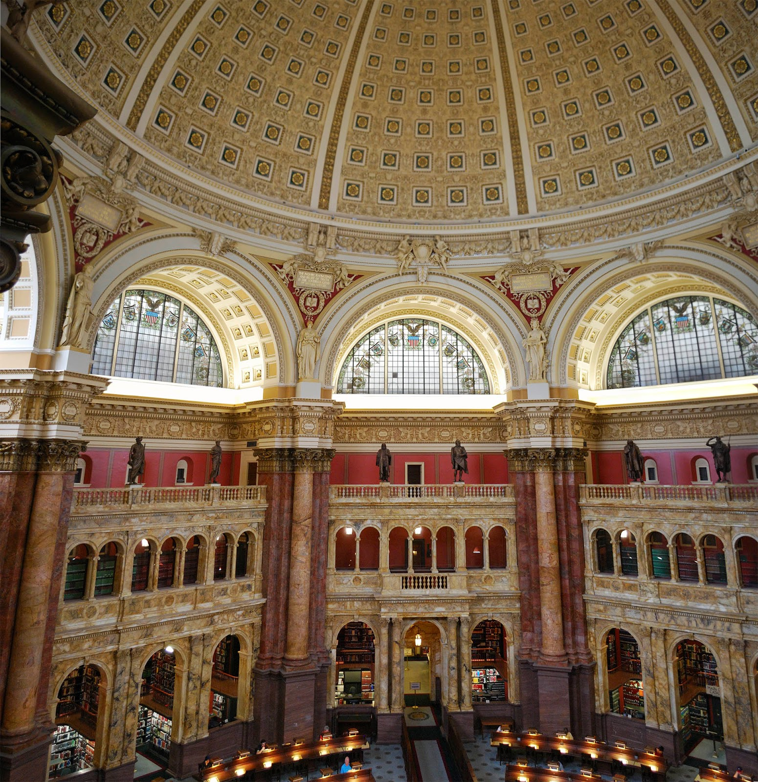 washington dc itinerary guide map capitol national mall jefferson building library congress