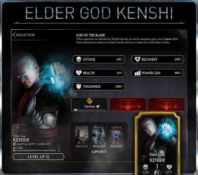 Kenshi Dio anziano.