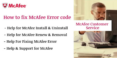 How to fix McAfee Error Code