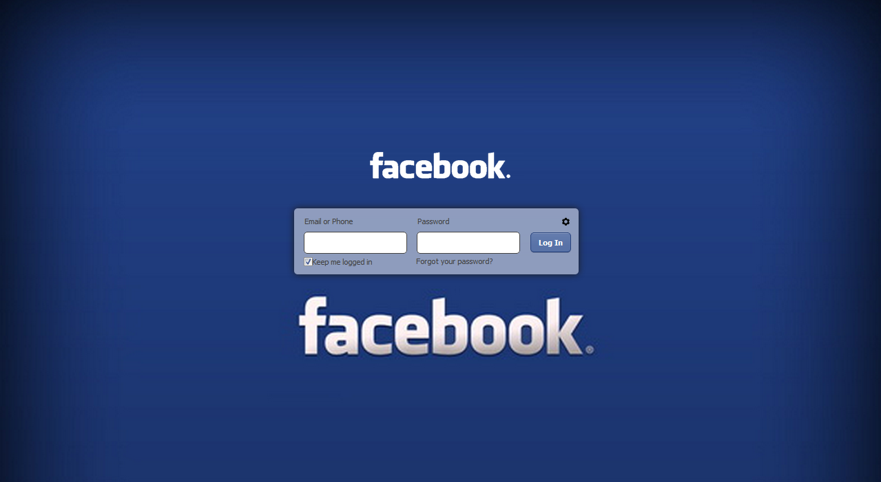 customizing your facebook login page   trickflu