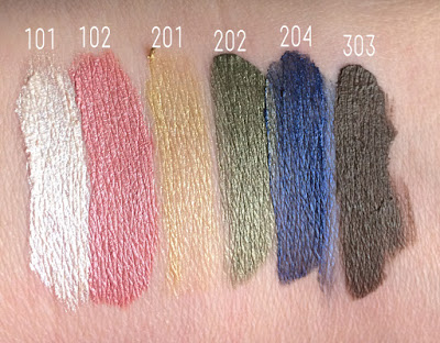Loreal - Infaillible Eye Paint Swatches