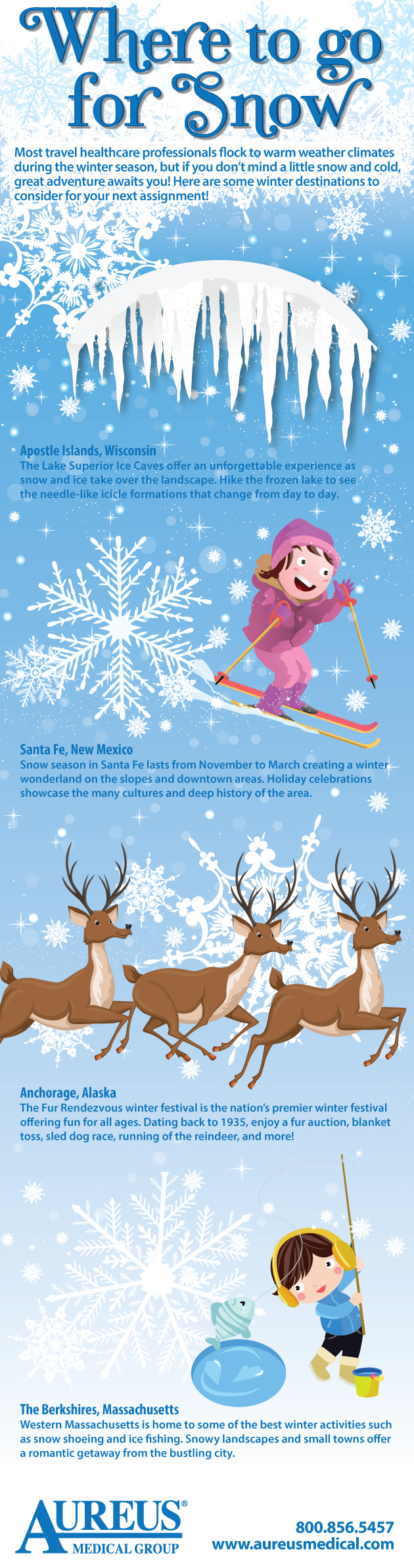 Where to go for Snow #infographic #Travel #infographics #Snow #Health & Fitness
