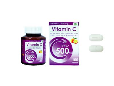 Cee 500 vitamin C 500 mg 100 เม็ด
