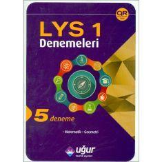 Uğur LYS-1 Matematik,Geometri 5 Adet Deneme Sınavı (2015)