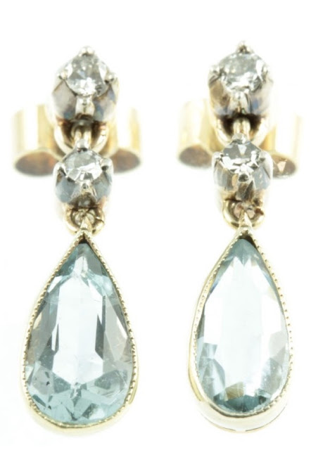 beautiful antique earrings from Carus Jewellery