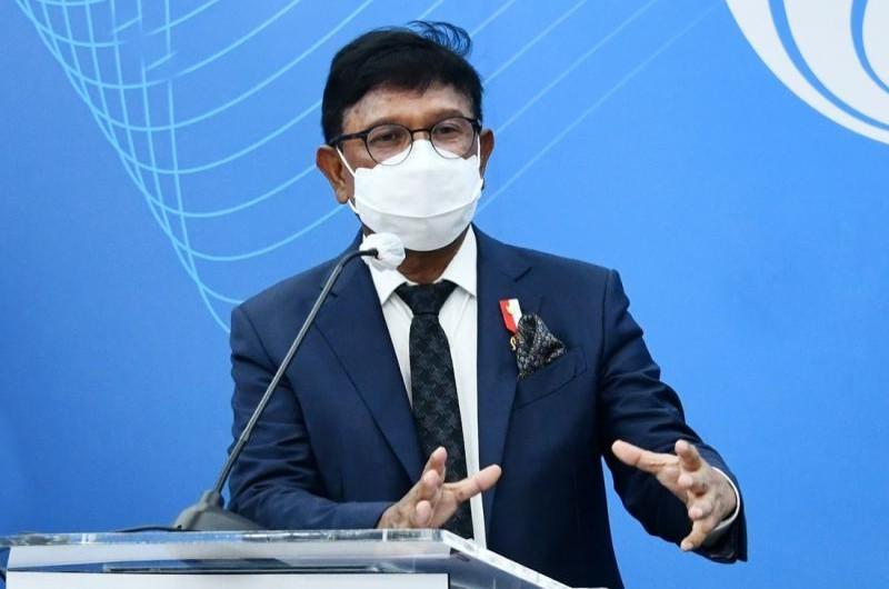 Umumkan Mitra 9 Area Paket KSO, Menteri Johnny: Lakukan Persiapan Integrasi BTS secara Bertahap