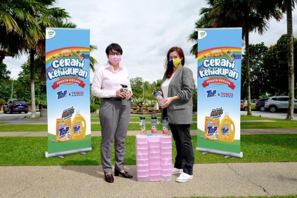 Cerahi Kehidupan Bersama TOP, TOP Detergent Malaysia, Kita Jaga Kita, Rawlins GLAM, Rawlins Lifestyle, JAKOA