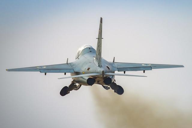 Israeli fighter pilot training combat