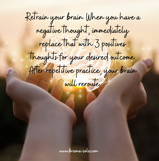 Latihan berpikir positif