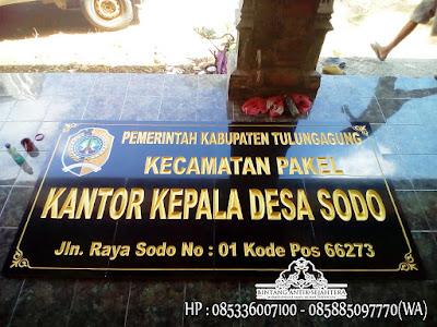 Prasasti Nameboard Murah, Nameboard Granit Peresmian, Papan Nama Granit