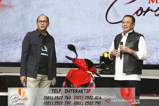 Motor Jokowi Terjual Rp 2,5 M di Konser Melawan Corona