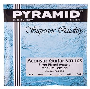 Senar Gitar Akustik Pyramid Medium Tension