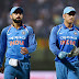 IND VS NZ:FIRST ODI IND WIN BY 8 WICKETS.