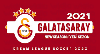 Galatasaray 2021- DLS2020 Dream League Soccer 2020 Forma Kits ve logo ( YENİ SEZON )