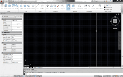 Workspace autocad 3D
