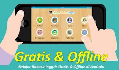 aplikasi belajar bahasa inggris offline dan gratis