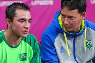 Técnico de Hugo Calderano ressalta a regularidade do atleta em eventos internacionais na temporada