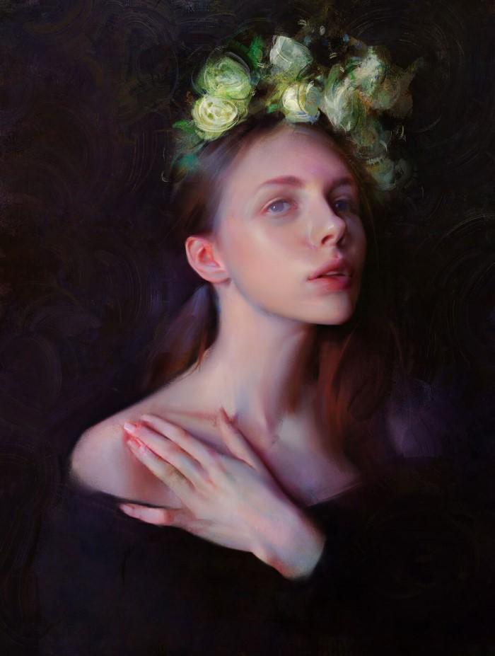 Цифровой художник. Wangjie Li